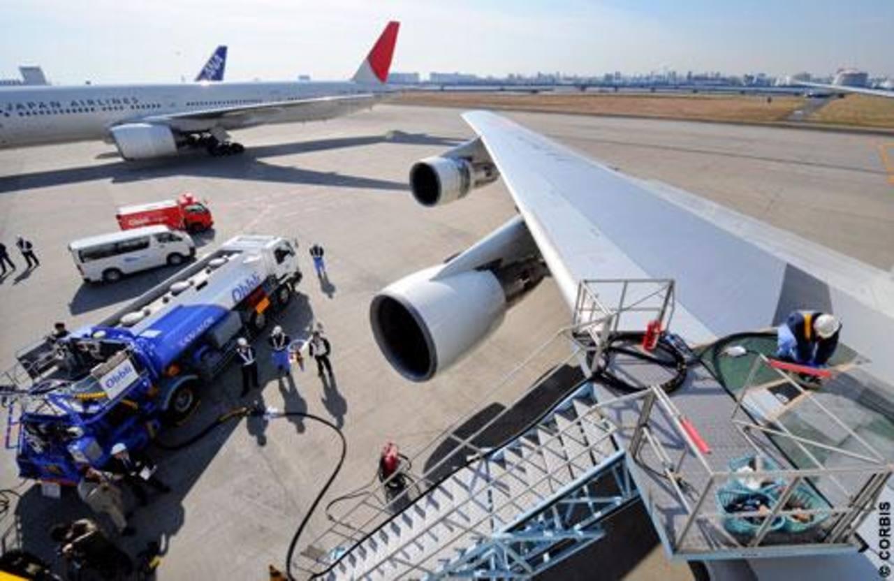 El precio del petróleo afecta también a las aerolíneas.
