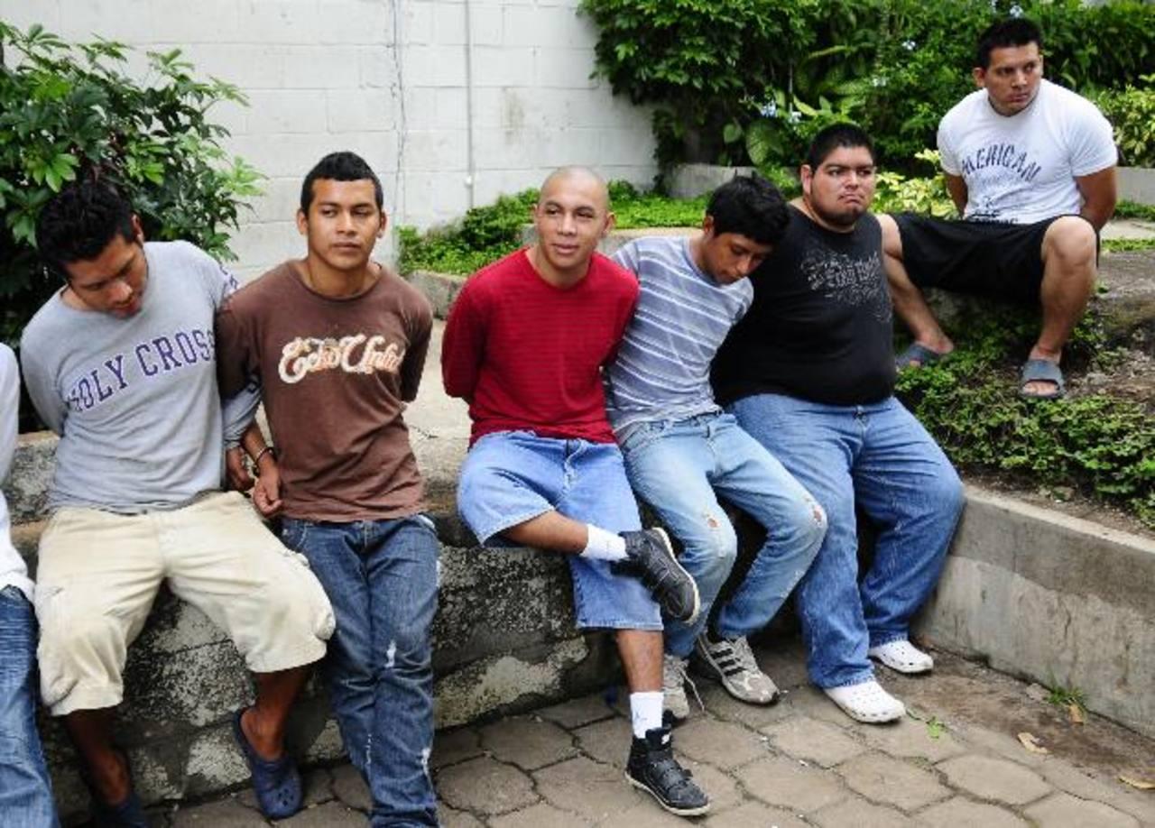 Los sujetos condenados son pandilleros en San Vicente. Foto EDH / archivo