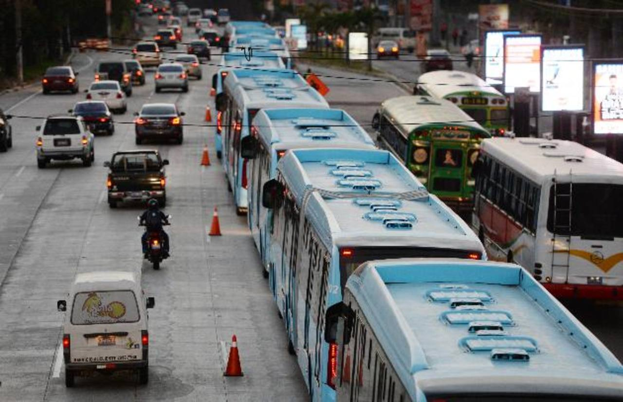 El Sitramss dejará poco espacio para autos privados