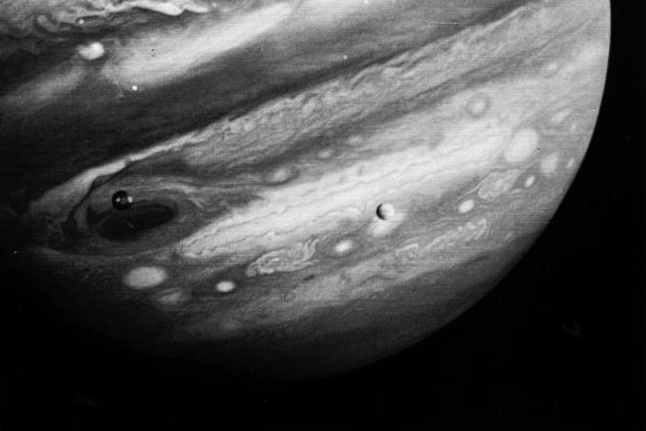En 1989, la sonda Galileo fue enviada a Júpiter adonde llegó seis años después. foto edh