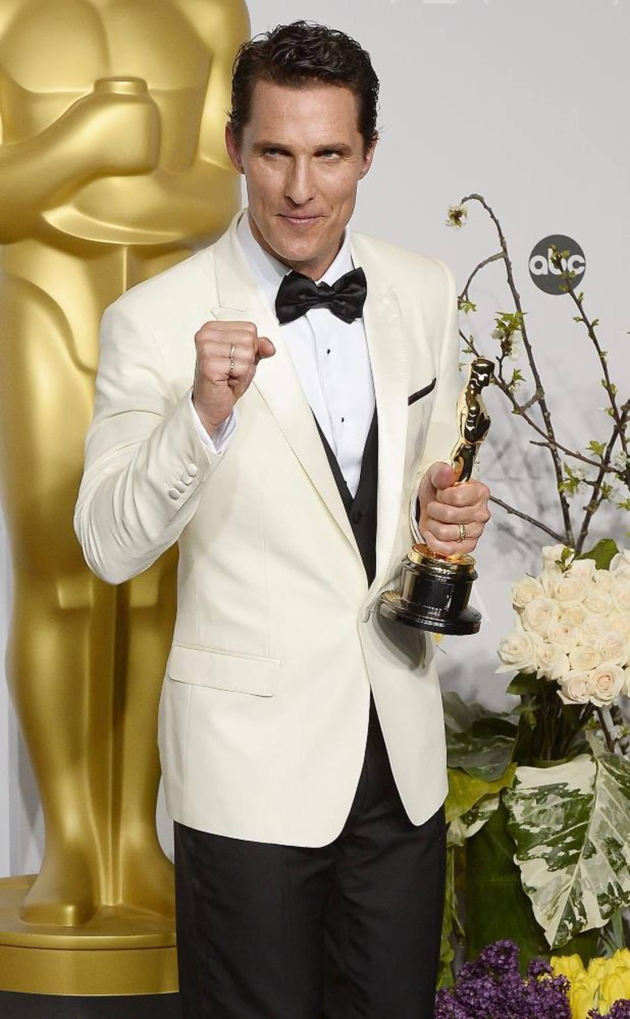 """Matthew McConaughey: """"'Dallas Buyers Club' es una película que tomó 20 años hacer, la rechazaron 86 veces"""""""