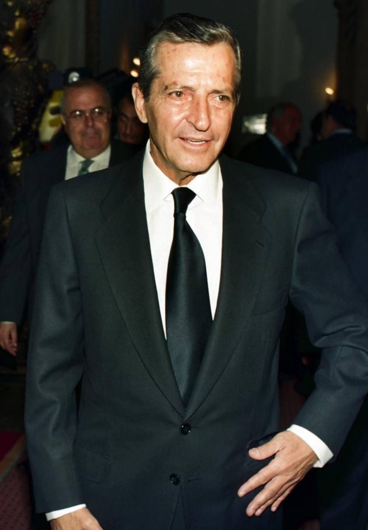 Foto de noviembre de 1996, del entonces Primer Ministro español, Adolfo Suárez. Foto EDH / REUTERS