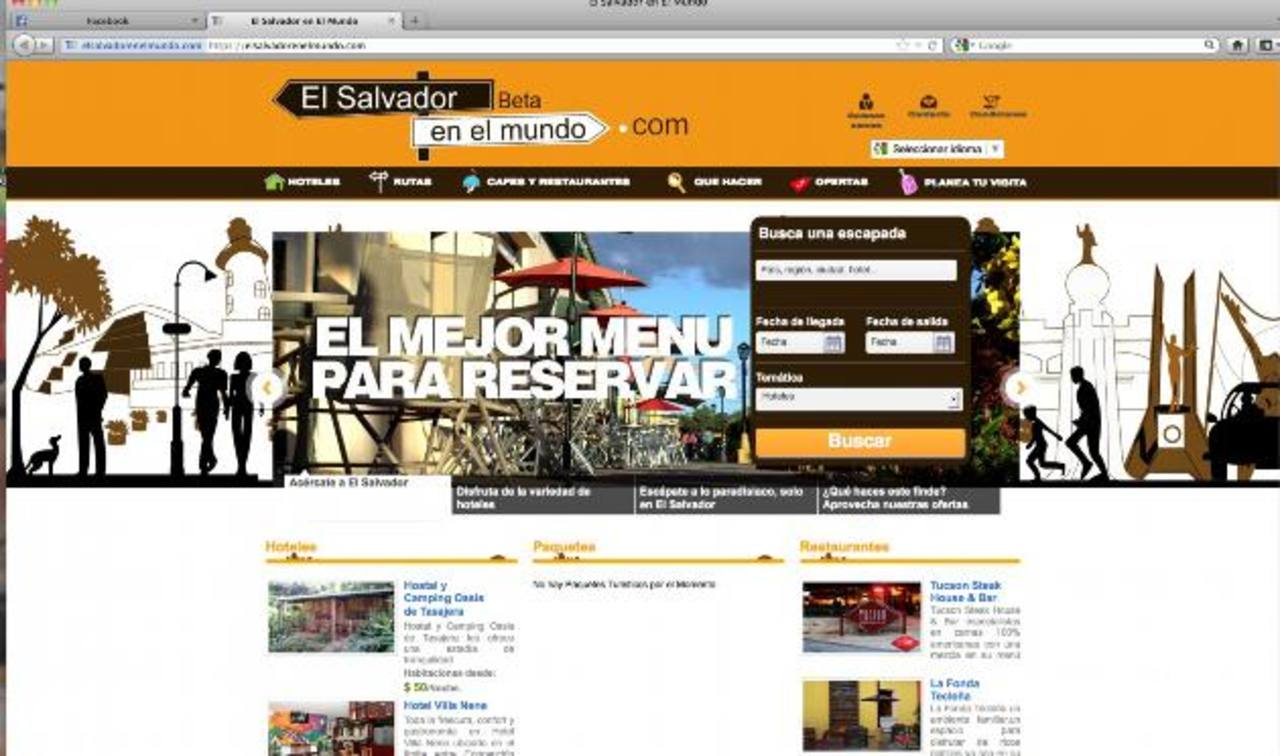 Crean plataforma digital de turismo