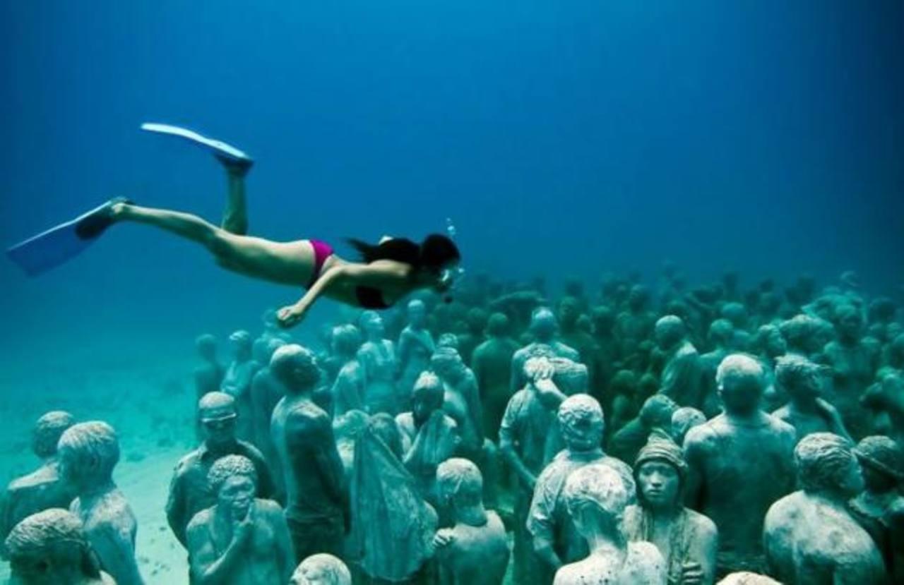 Fotos: El impresionante Museo Subacuático de Arte