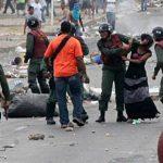 """Policía de Venezuela: """"La cosa está grave en el país"""""""
