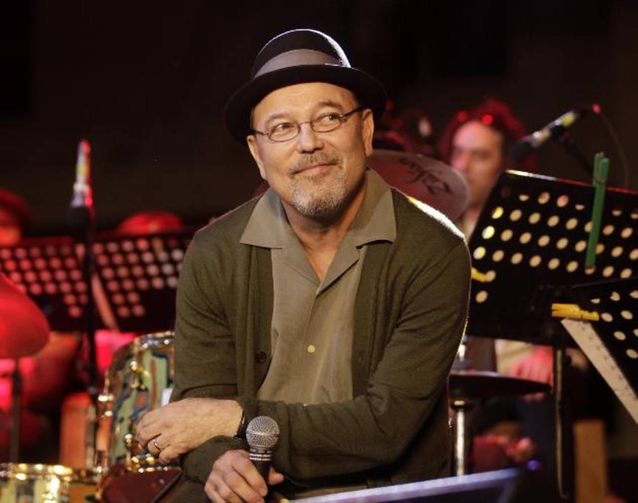 El compositor Rubén Blades participa en la 10a edición del Festival de Jazz de Panamá, en la Ciudad de Panamá.