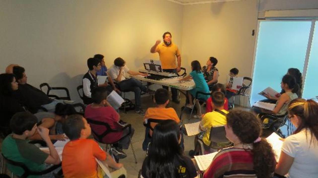 Ucoral es una comunidad artística está en constante capacitación. Foto / Cortesía.