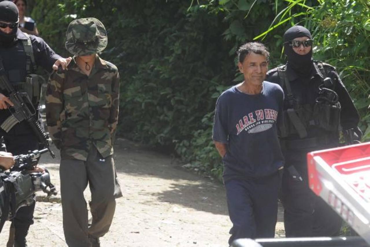 José Mercedes Miranda se entregó a la Policía cuatro horas después de haber cometido el hecho. Foto EDH / Archivo.