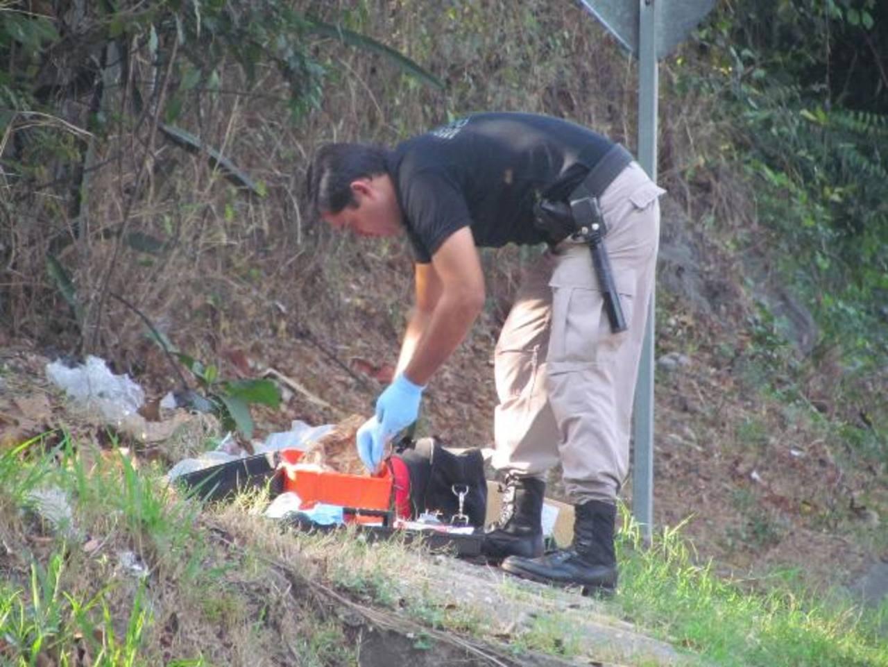 El hallazgo ocurrió en el kilómetro 70 de la carretera que conduce hacia Metapán.