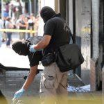 El asesinato del vendedor ocurrió frente a la Unidad de Salud Concepción, en San Salvador. Foto EDH / Claudia Castillo