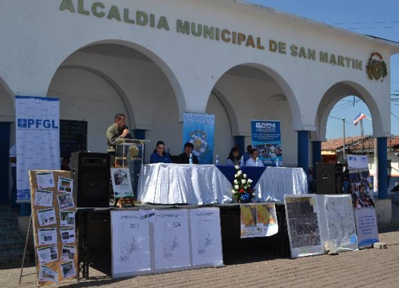 La comuna del municipio será la encargada de ejecutar el plan en cualquier emergencia. foto edh / CORTESÍA