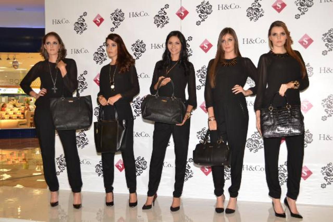 Almacenes Simán presentó la línea de bolsos y accesorios H&Co. foto edh / CORTESÍA