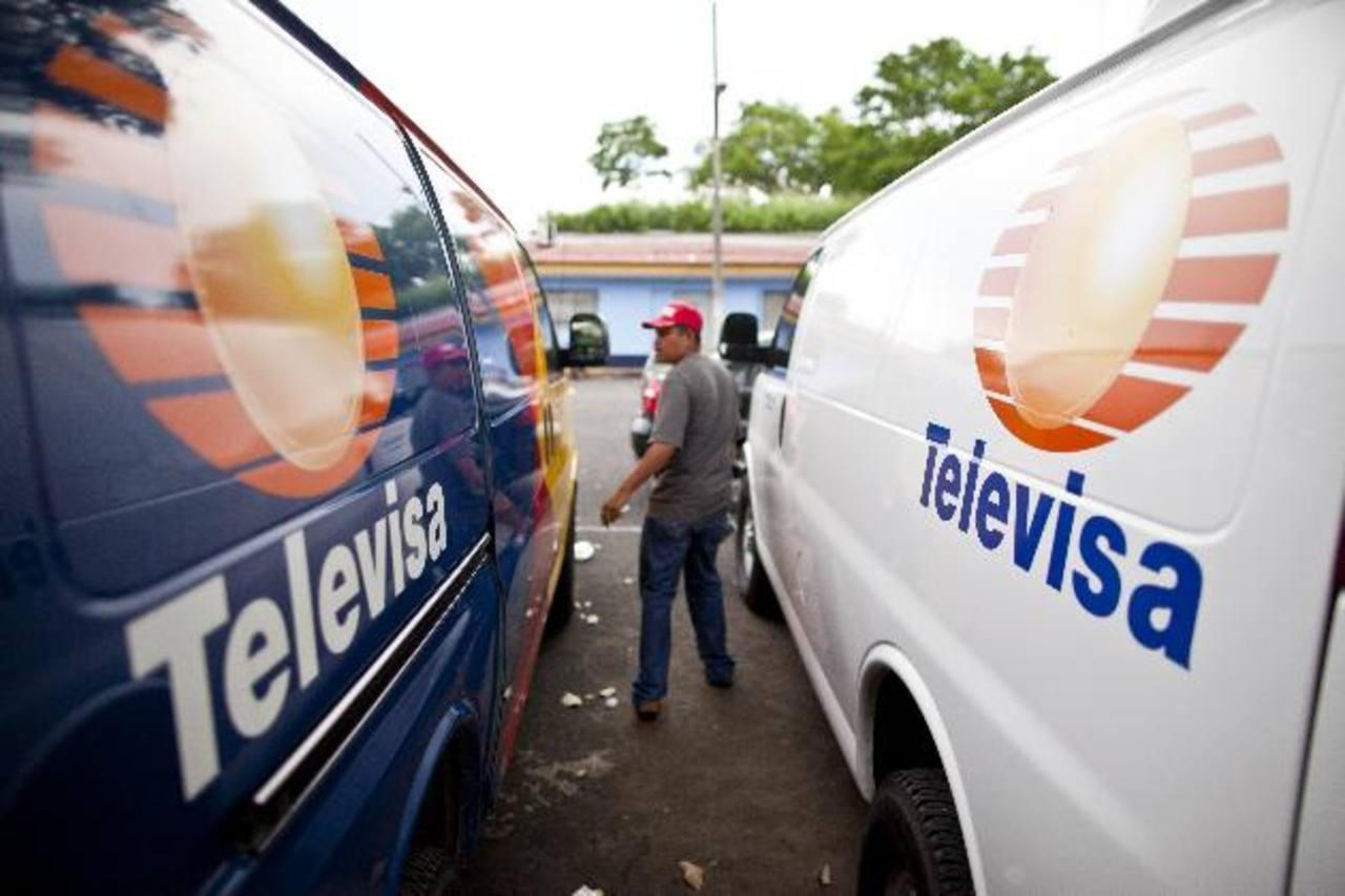 El grupo de medios más grande de México controla el 70 % de la televisión abierta. foto edh / archivo