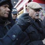 Vecinos de Harlem realizaron una vigilia por las víctimas del desplome de los edificios.