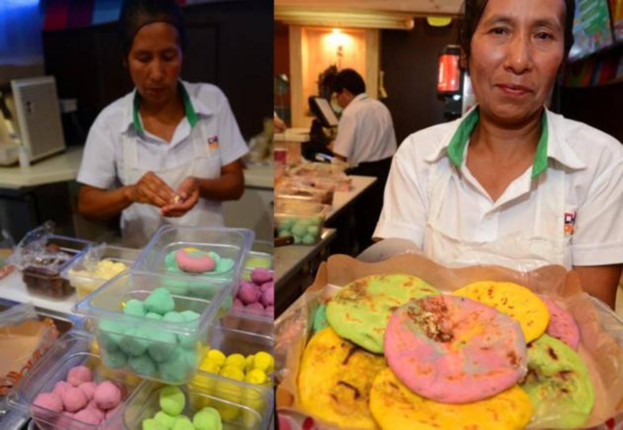 Pupusas de colores, la nueva tendencia en El Salvador