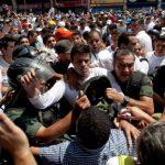 El líder opositor Leopoldo López se entregó a las autoridades el 18 de febrero. Foto EDH /archivo