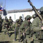 Base ucraniana de Simferopol. Foto tomada de Internet