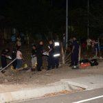 Cuatro de las víctimas murieron en el lugar de los hechos, incluido un menor de edad; las otras tres murieron en el hospital. Foto EDH / Jorge Reyes