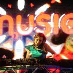 Mazzy DJ fue una de las invitadas al lanzamiento de la plataforma. Fotos EDH / René Quintanilla