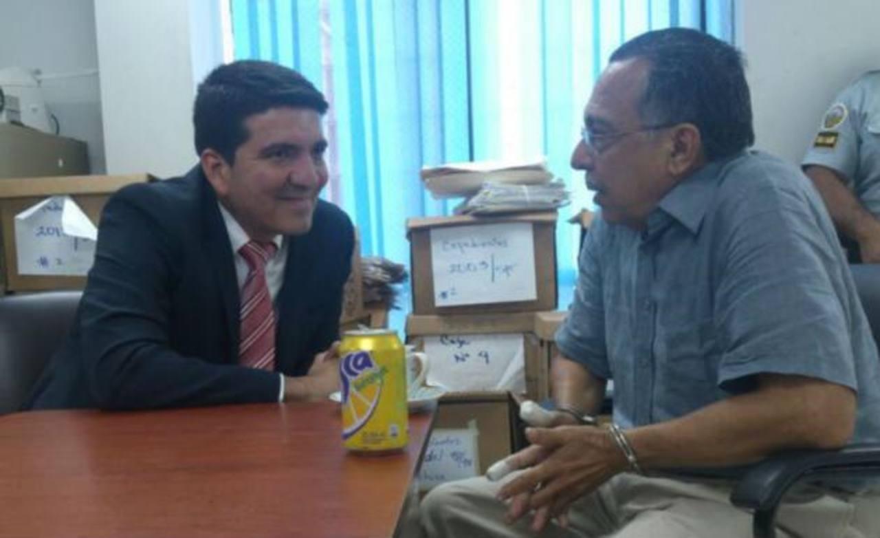 Carlos Perla cumple 15 años de prisión en el penal de Metapán, Santa Ana