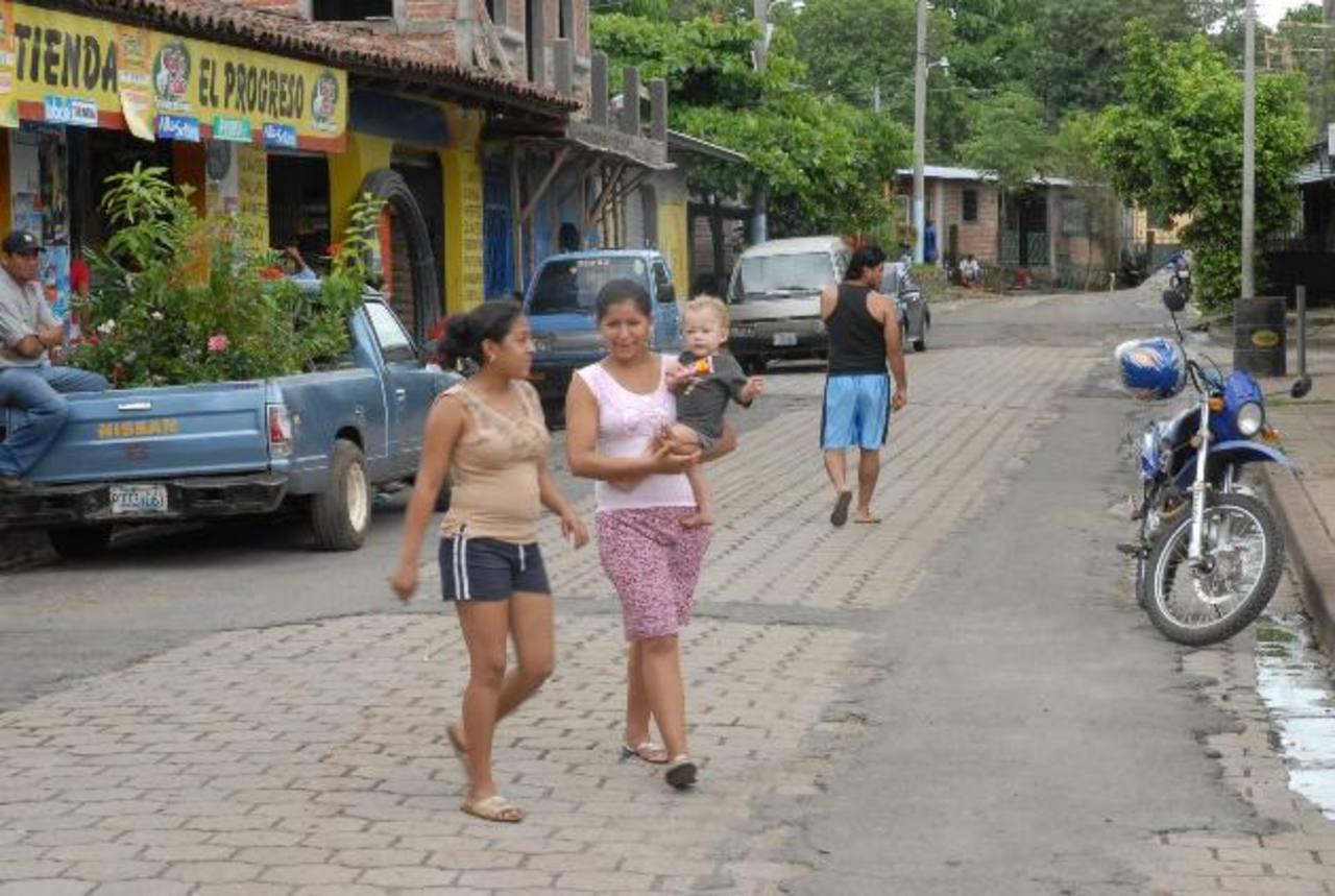 En Caluco, 22 familias serán beneficiadas con la generación de energía. Foto EDH/archivo