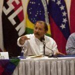 Daniel Ortega, el 20 de febrero, en una de sus últimas apariciones públicas. FOTO EDH Efe.