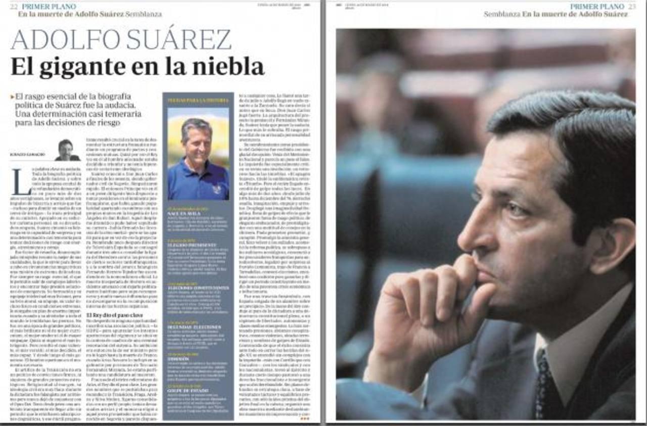 El estadista que llevó a España de la dictadura a la Democracia