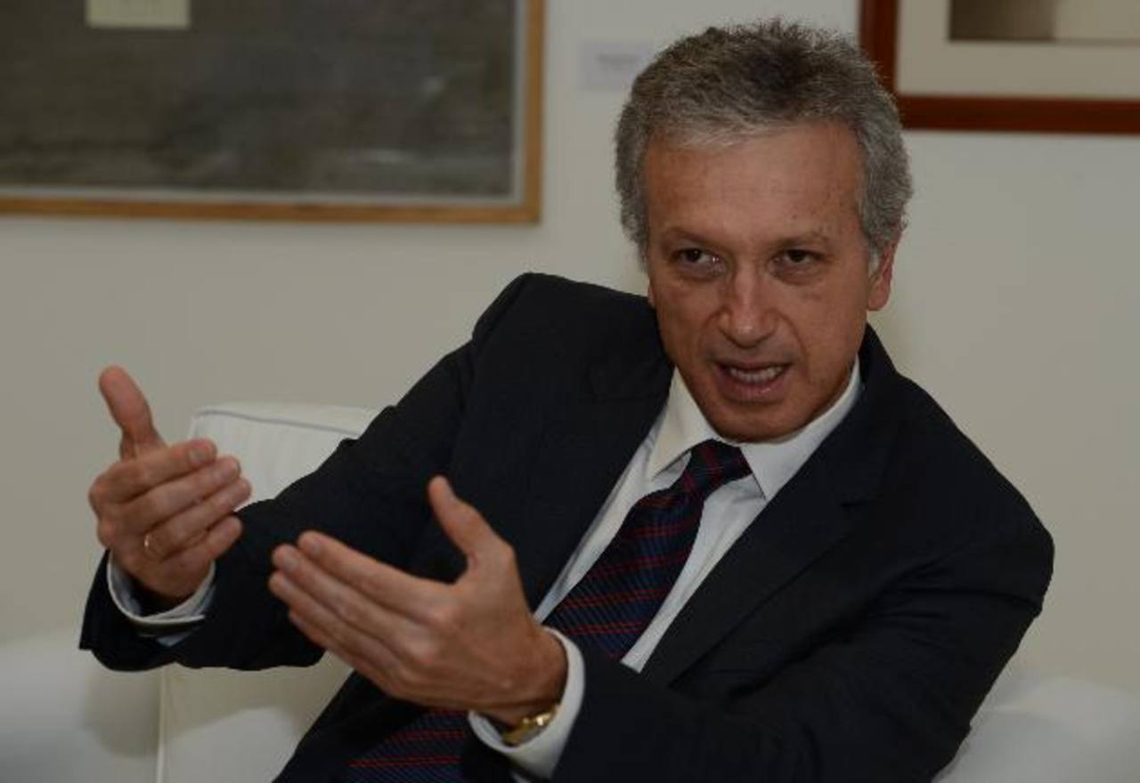 Gonzalo A. Pérez, presidente de Suramericana, conglomerado regional de seguros. foto edh / m. Cáceres