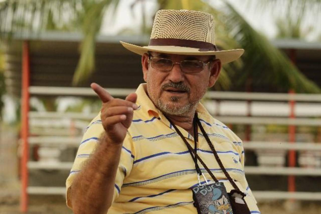 Hipólito Mora es uno de los principales dirigentes de los autodefensa de Michoacán, en México. foto edh / archivo