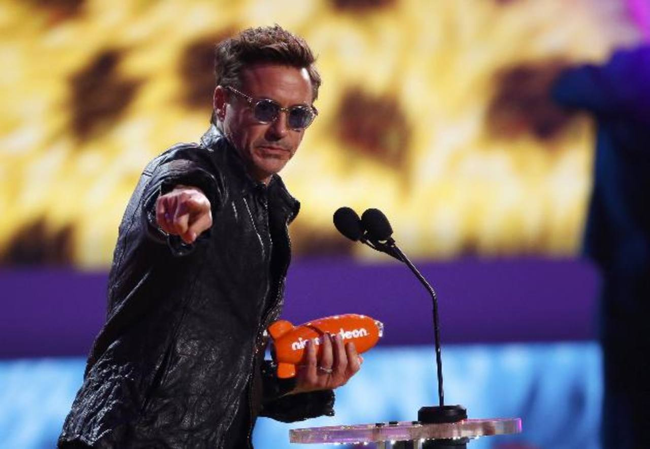 Este es el mayor honor que me hayan dado..., dijo Robert Downey Jr. al recibir su premio.