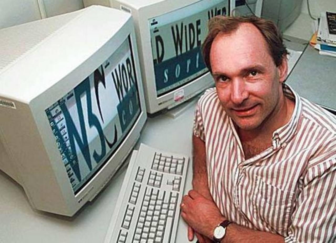 """El inventor de la web, el británico Tim Berners-Lee, propuso la creación de una """"carta magna"""" de internet para proteger los derechos de los usuarios en todo el mundo. Foto tomada de internet"""
