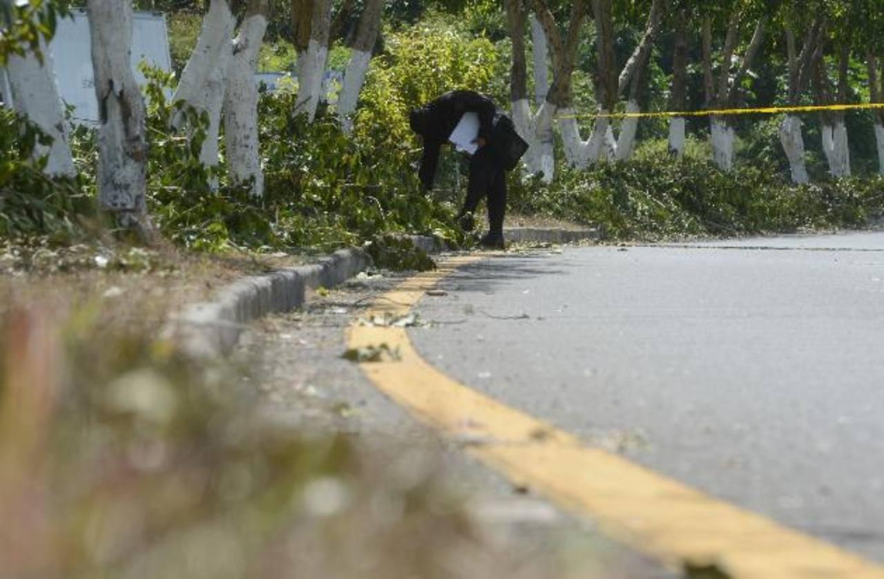 El percance tuvo lugar a las 4:00 de la madrugada de ayer, en Ashapuco, Ahuachapán. Foto EDH / Archivo