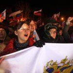 Un 90 % de las personas en Crimea habrían votado por adherirse a Rusia. Occidente dijo que desconocerá los resultados del referendum
