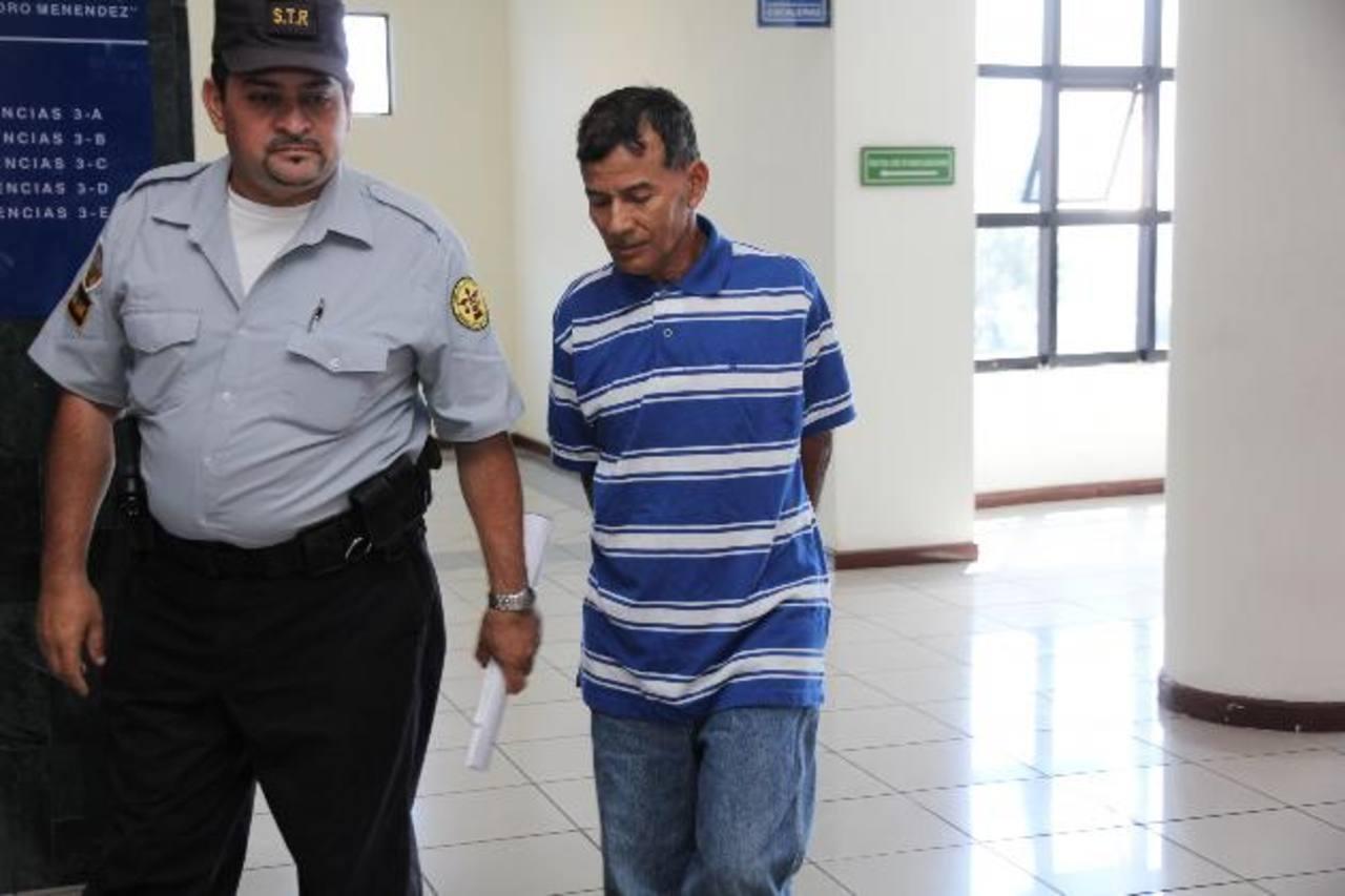 El Tribunal Sexto de Sentencia reprogramó la audiencia contra José Miranda para el 3 de abril. Foto EDH / Cortesía Juzgados