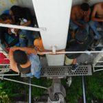 Rescatan a ocho salvadoreños retenidos en México