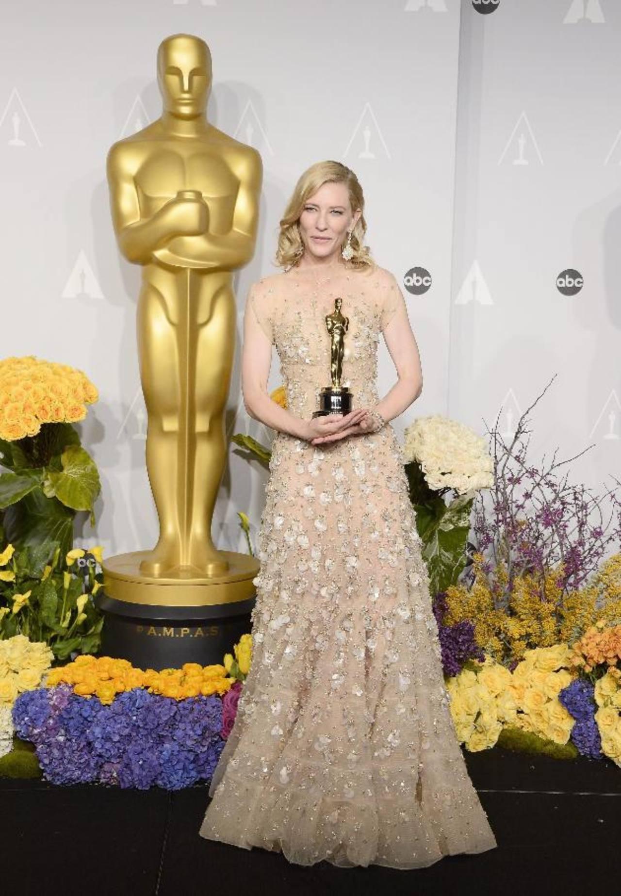 """Cate Blanchett: """"Pedí que impriman mi nombre en el Óscar, antes que me lo quieran quitar"""""""