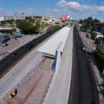 Segunda estación del Sitramss, en la zona del hospital Amatepec. Tiene un avance del 88 %. Foto EDH / ARCHIVO