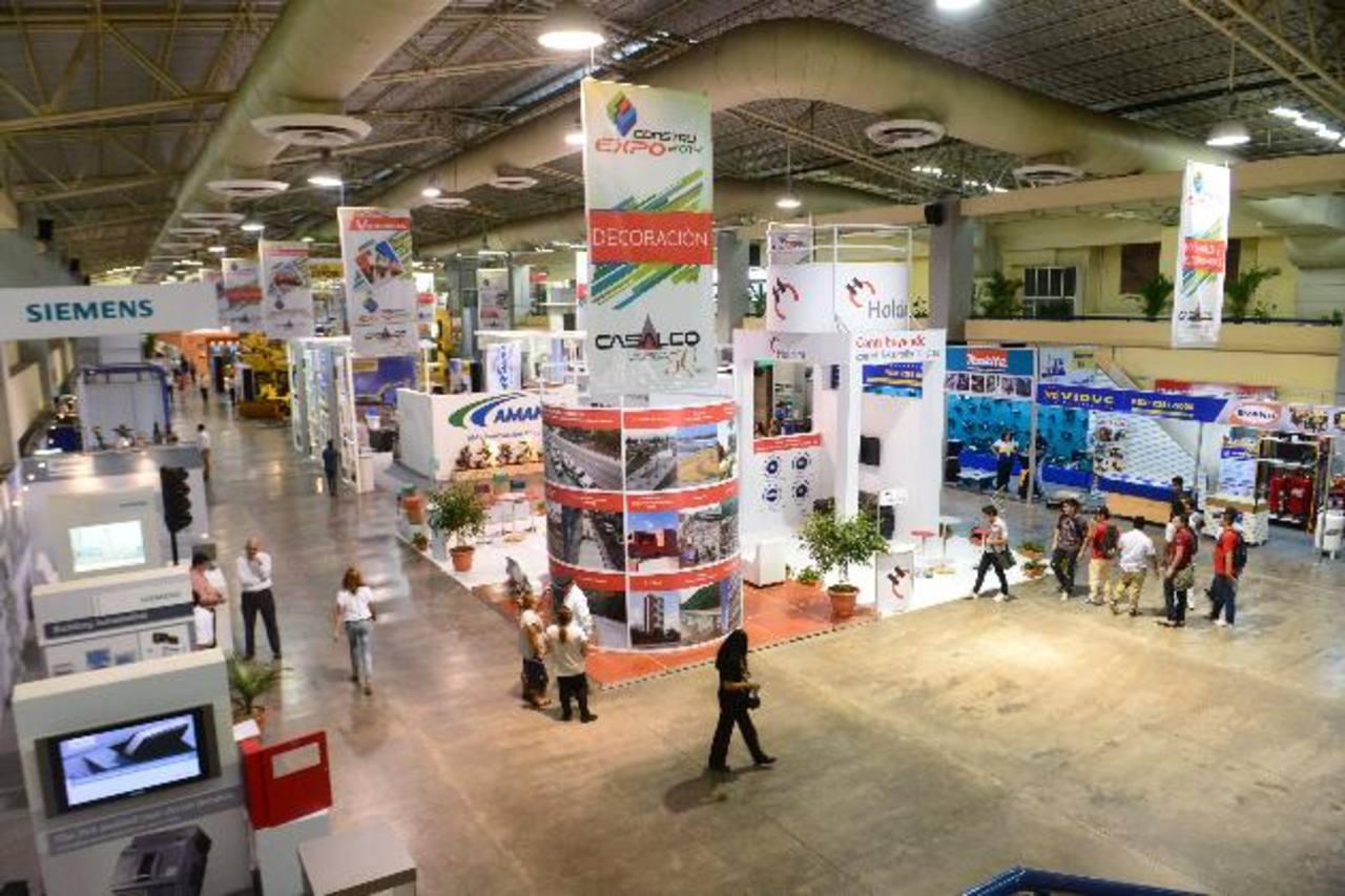 Además de exposiciones, la feria incluye stands para quienes desean adquirir o remodelar su casa. FOTO EDH /ARCHIVO