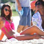 Fotos: Ex de Neymar hace arder playa en Río de Janeiro