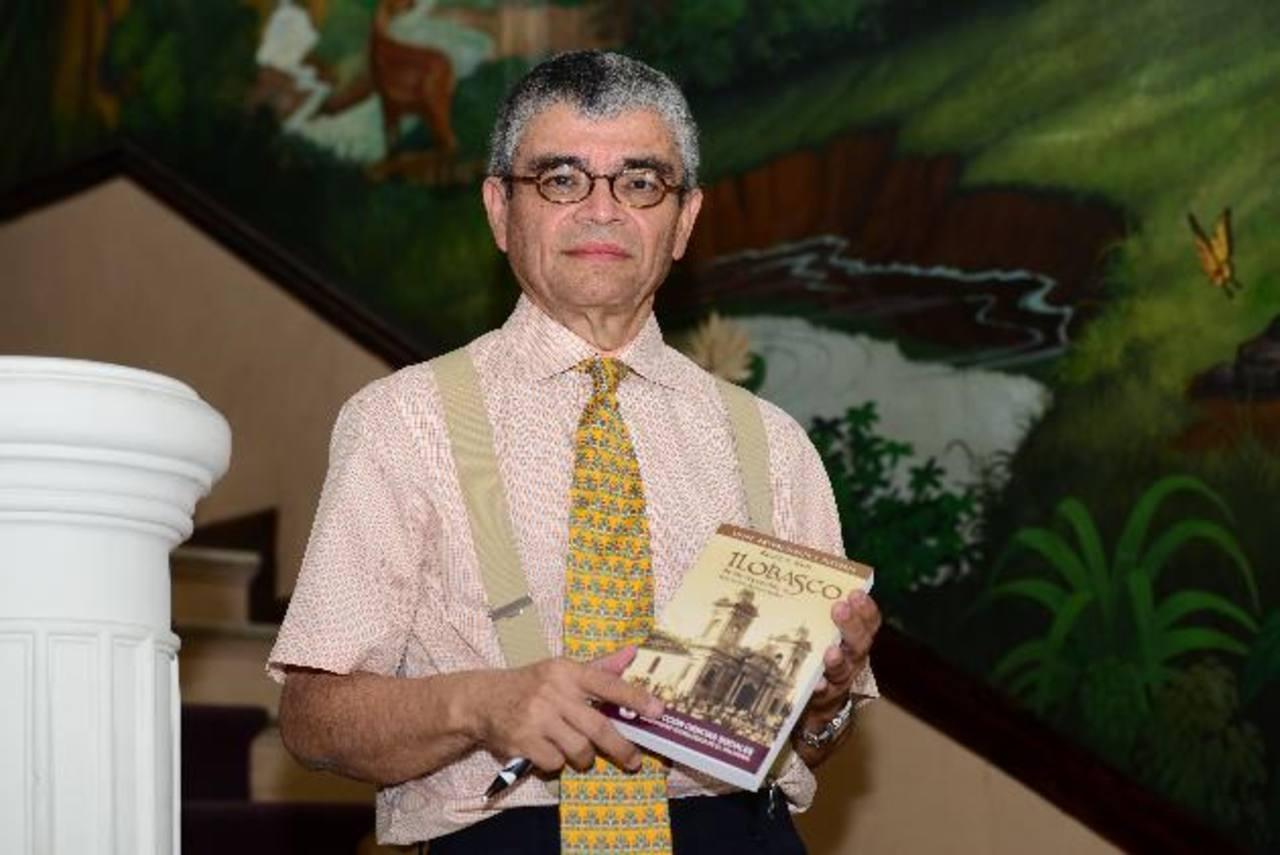 Ricardo Rivas presentará su libro en el auditorio del Museo Universitario Antropológico de la Utec. Foto Edh / Jorge reyes