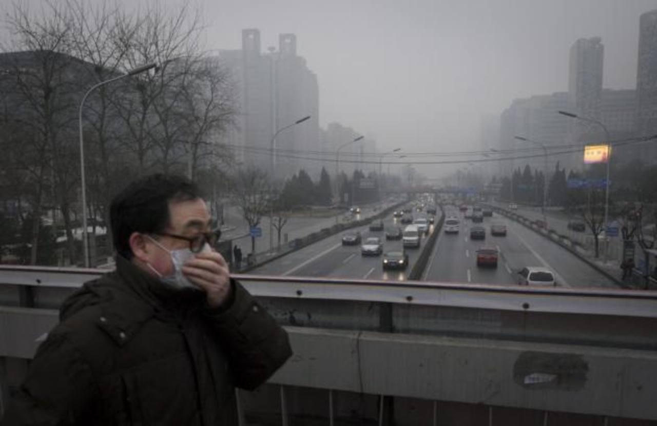 OMS: Contaminación del aire causó la muerte de siete millones de personas en 2012