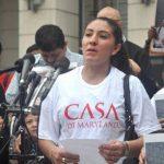 La salvadoreña Roxana Santos denunció ser víctima de discriminación racial por parte de las autoridades del condado de Frederick. Foto tomada del washingtonhispanic.com