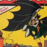 Este es el número Detective Comics #27, donde apareció Batman por primera vez