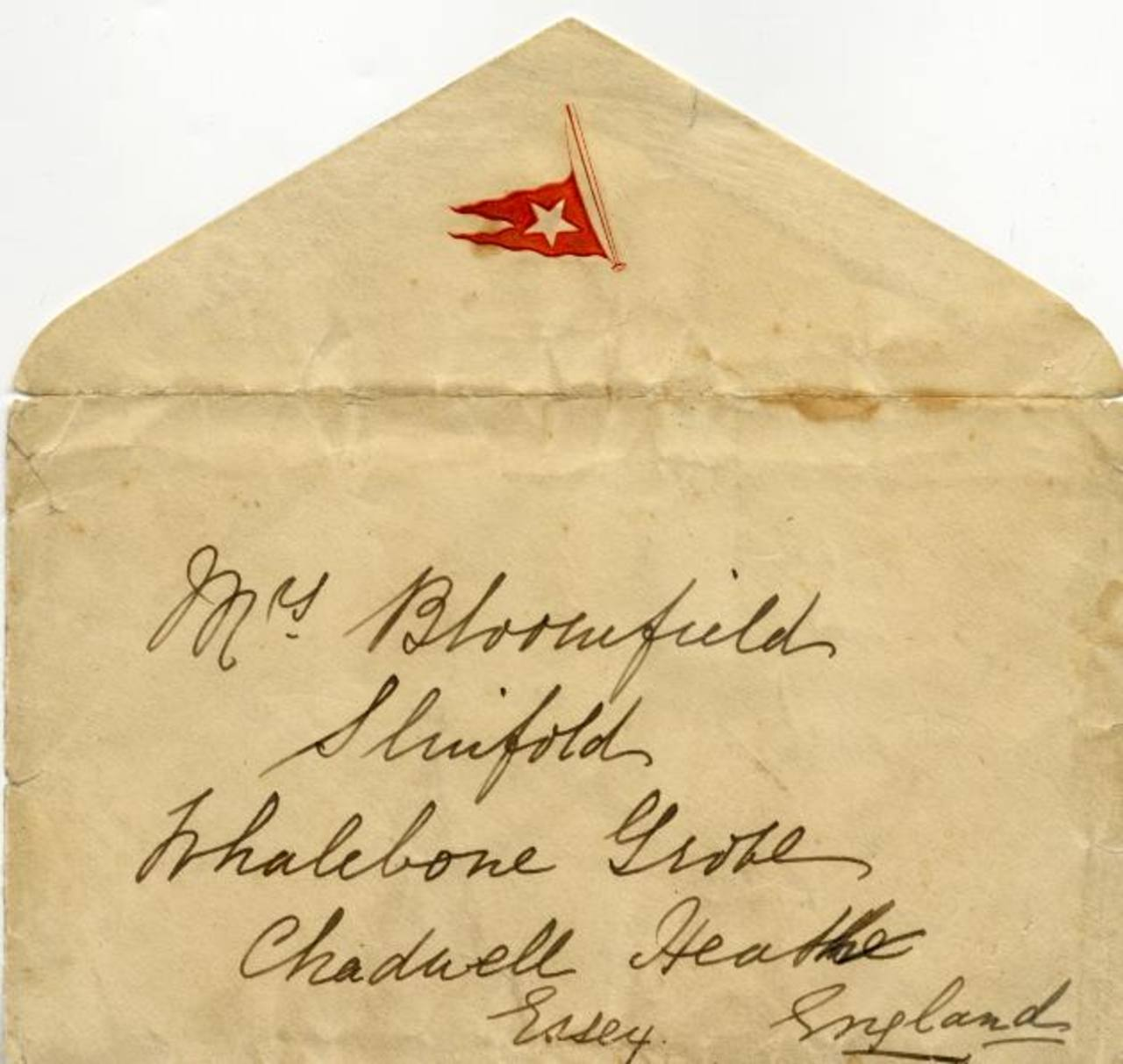 Una carta del Titanic vendida en un precio récord de $200 mil