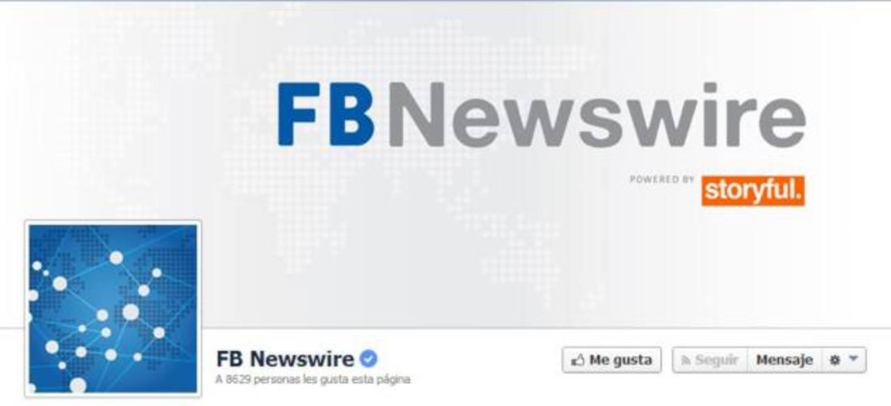 Facebook presenta oficialmente su agencia de noticias