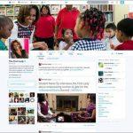 La cuenta de Michelle Obama, primera dama de EE. UU., ya presenta cambios. foto edh