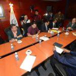La comisión por la seguridad se reunió por primera vez el miércoles pasado. Foto edh / archivo