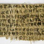 Confirman autenticidad de papiro que habla de la esposa de Jesús