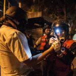 El periodista, cuya indentidad no fue revelada, se encuentra fuera de peligro y no fue necesario llevarlo a un hospital. foto edh /ARCHIVO