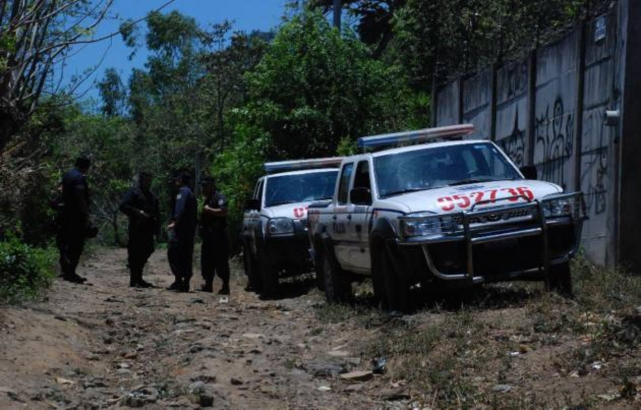 Dos pandilleros lesionados tras enfrentarse con policías